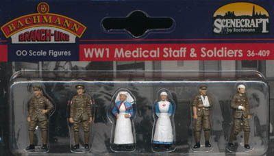 Bachmann WW1 Medical Staff and Soldiers box