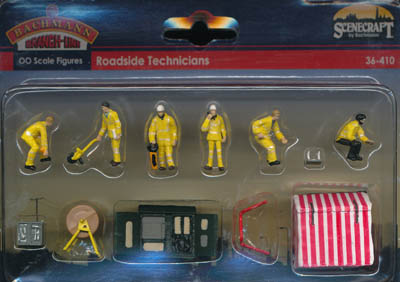 Bachmann Roadside Technicians box