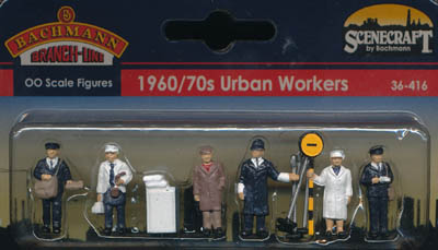 Bachmann 1960/70s Urban Workers box