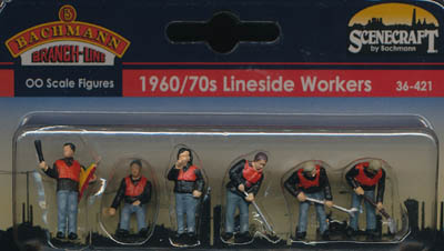 Bachmann 1960/70s Lineside Workers box