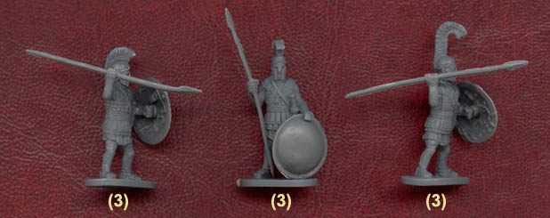 Hoplite Greek Warriors Caesar Miniatures H065 - 1:72