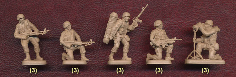 Plastic Soldier Review Esci Modern U S Soldiers
