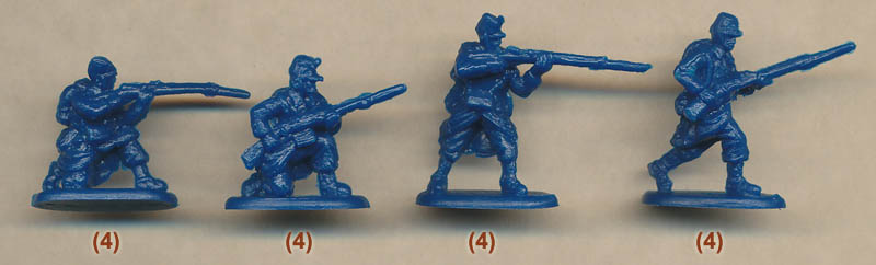 Plastic Soldier Review - HaT WWI Belgian Infantry