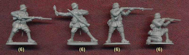 Plastic Soldier Review - Revell German Infantry